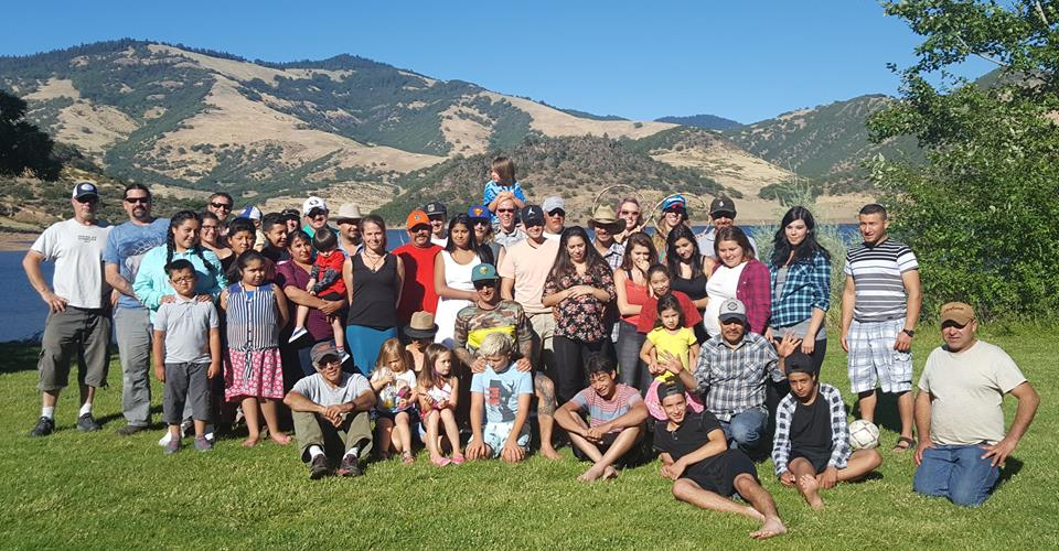 Lomakatsi staff, workers and family at Emigrant Lake for the annual Lomakatsi get-together.