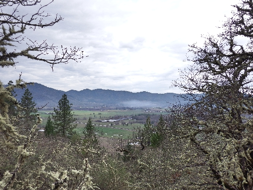 Sams Valley from Lower Table Rock