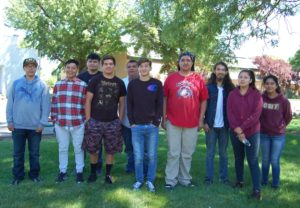 2017 Issi Wah Tribal Youth Ecological Workforce Program Crew