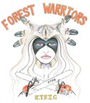 Klamath Forest Warriors, Klamath Tribe Forest Improvement Crew, by Justice Blacksun, 8-7-13