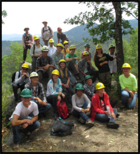During the 4-week program, 20 students were paid $10/hour to conduct on-the-ground ecosystem restoration projects.