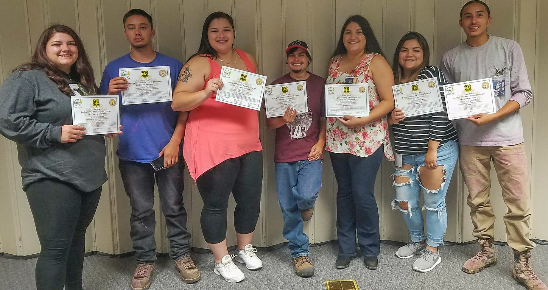 tribal youth with certs